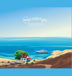 Seascape 01 vector