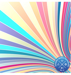 Abstract background with curled vector