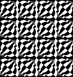 Black and white diagonal bulbs checkered vector