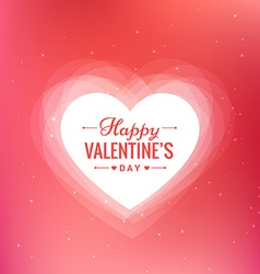 beautiful valentines day background vector image vector image