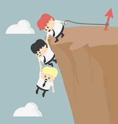 Business team work for success vector