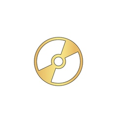 Cd dvd computer symbol vector