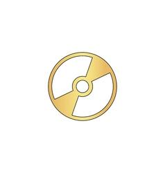 CD DVD computer symbol vector image