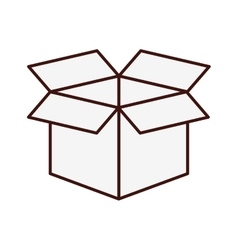 Open box icon image vector