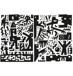War - abstract vector