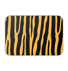 Card with tiger pattern vector