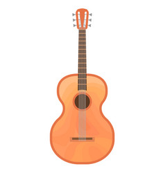guitar of a guitar isolated vector image vector image