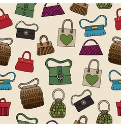womens bags vector image vector image