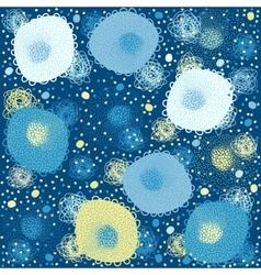 Background children blue vector image vector image