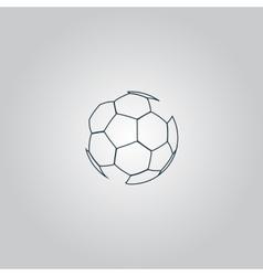 football ball - soccer vector image vector image