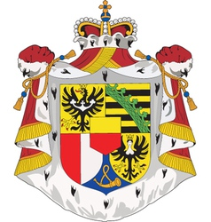 Liechtenshtein coat-of-arms vector