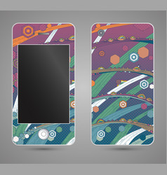 style phone case vector image
