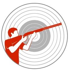 Trap shooting vector