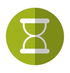 Hourglass button thumbnail icon image vector