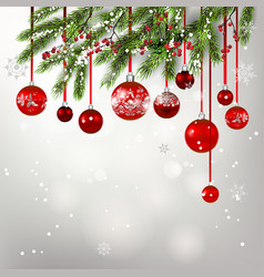 background tree decor-03 vector image vector image