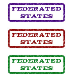 Federated states watermark stamp vector