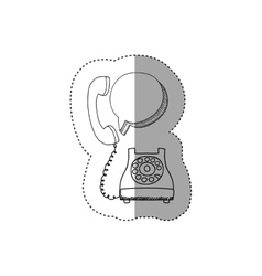 Isolated phone device design vector image