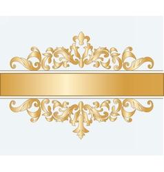 Royal imperial classic ornament vector