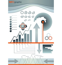 Infographic design set element vector