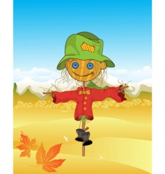 scarecrow vector image