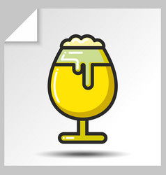 Beer icons 10 vector