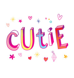 Cutie vector