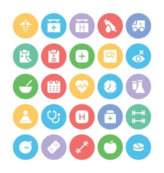 Health Icons 5 vector image