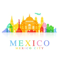 Mexico travel vector
