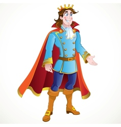 Prince charming vector image vector image