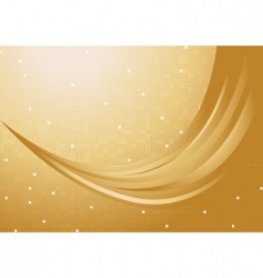 vector gold background vector image vector image