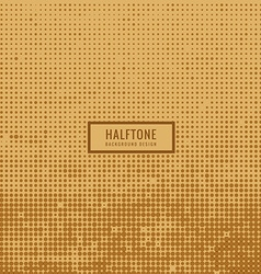 Old dirty halftone background vector