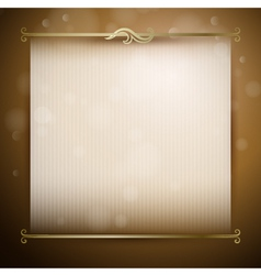 Background with classic decor vector