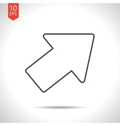 Pointer icon vector