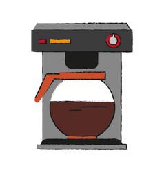 coffee maker vector image vector image