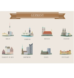germany city vector image vector image