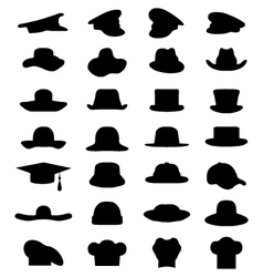 Caps and hats vector