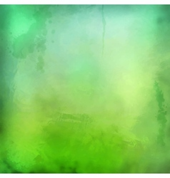 Decorative grunge green background vector
