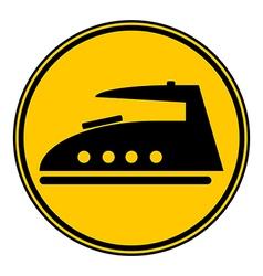 Iron button vector