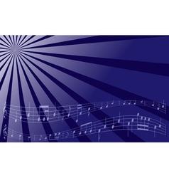 violet music background vector image