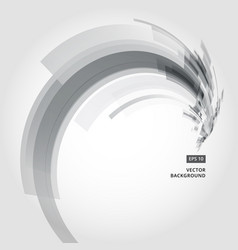 Abstract background element in black and gray vector