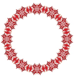 Decorative circle vector
