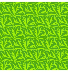 green seamless wallpaper vector image