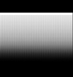 halftone dots dotted gradient vector image vector image