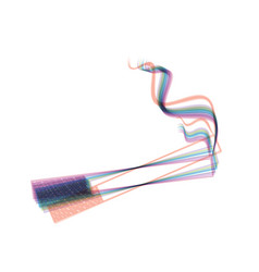 Smoke icon great for any use colorful vector