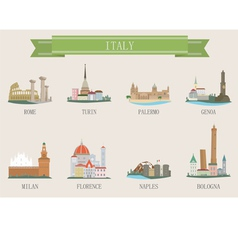 italy city vector image