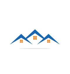 House realty construction logo image vector