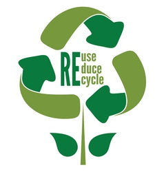 recycle1 vector image