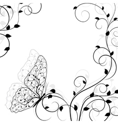 Beautiful natural background vector