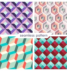 seamless pattern set 9 vector image
