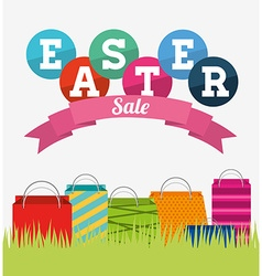 Easter sale design vector